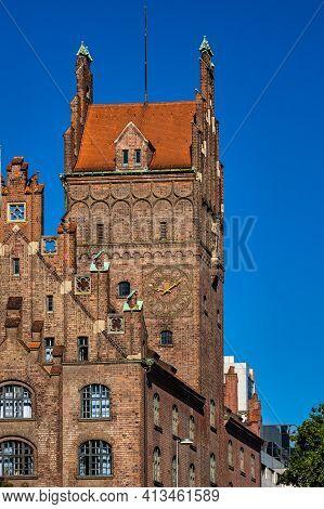Higher Regional Court And Bavarian Constitutional Court, Munich, Bavaria, Germany.