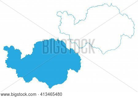 Lower Bavaria (federal Republic Of Germany, Administrative Division, Region Free State Of Bavaria) M