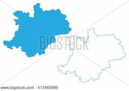 Upper Franconia (federal Republic Of Germany, Administrative Division, Region Free State Of Bavaria)