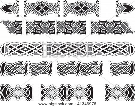 Celtic Medieval Ornaments