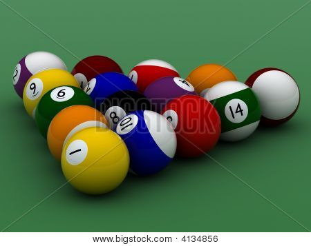 Pool Balls Hight Quality