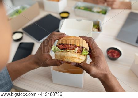 Meat Substitutes And Vegetarian Meals, Home And Office Delivery During Covid-19 Pandemic