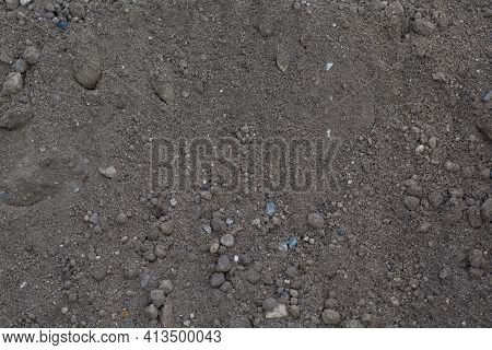 Soil Dry Ground Texture Background Pattern. Dirt Earth.