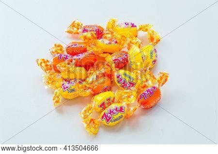 Pruszcz Gdanski, Poland - March 20, 2021: Zozole Musss Sweets.