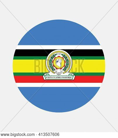 Flag Of The East African Community (eac). The East African Community (eac) Is An Intergovernmental O