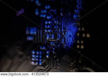Semiconductor Motherboard Circuit Board Semiconductor, Computer Board