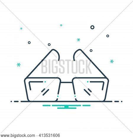 Mix Icon For Opticianry  Optometrist  Optical Eyeglasses Frames