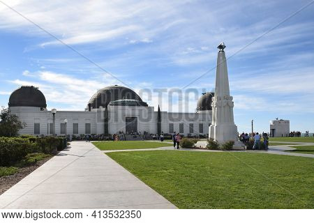 LOS ANGELES - NOVEMBER 24, 2017: Griffith Observatory. Griffith Observatory has been the leader of public astronomy in southern California since it opened in 1935.