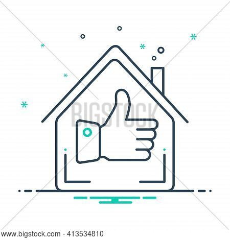 Mix Icon For Best-home Best Home Exquisite Property Real-estate