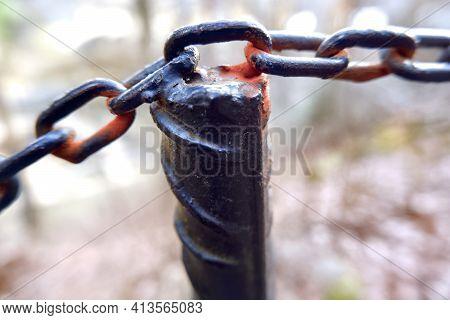 Metal Chain Link Chains Chain Rusty Chain Links
