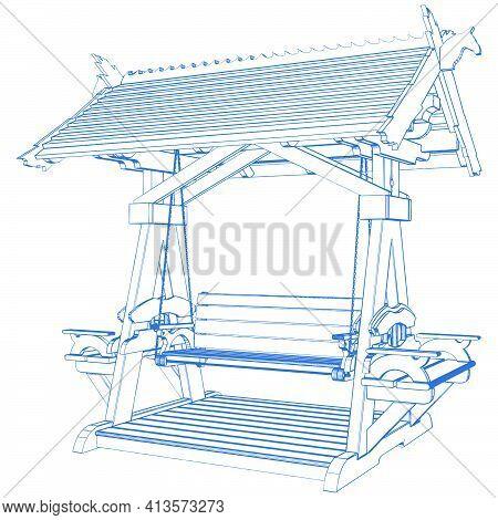 Park Swing Bench 02.eps