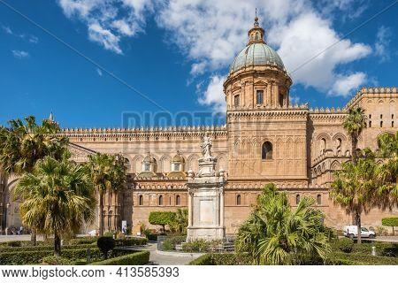 Palermo Cathedral Duomo di Palermo in Palermo, Sicily, Italy