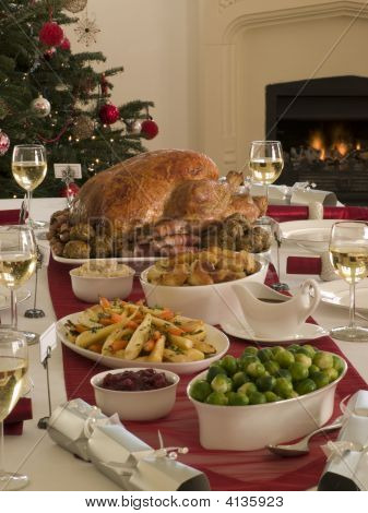 Roast Turkey Christmas Dinner