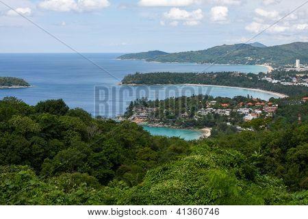 Kata, Karon, Patong Aussichtspunkt, Phuket, Thailand