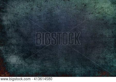Beautiful abstract grunge decorative navy blue dark wallpaper.