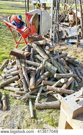 Electric Devices For Making Fire Wood At Home