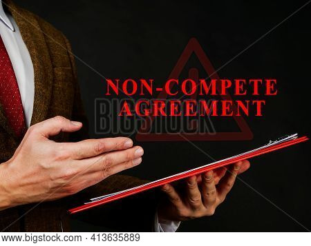Non Compete Agreement Or Clause In The Red Folder.