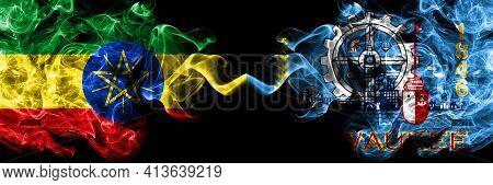Ethiopia, Ethiopian Vs United States Of America, America, Us, Usa, American, Milwaukee, Wisconsin Sm