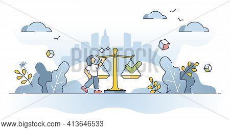 Governance As Political System Or Legal Regulation Or Control Outline Concept