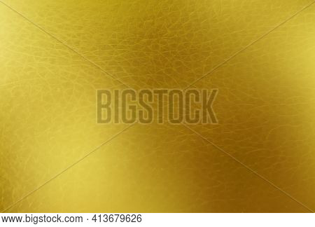 Shiny Gold Texture Foil, Paper Or Metal. Golden Vector Background.