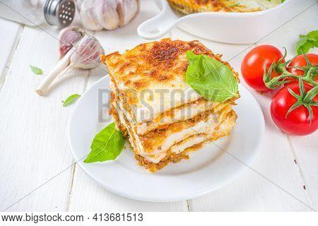 Italian Traditional Lasagna Pasta