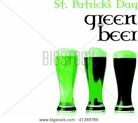 Green Beer St. Patrick's Day
