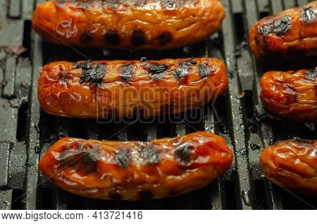Grilled Classic British Sausage Made From Prime Cuts Of Pork, Prime Pork Sausages