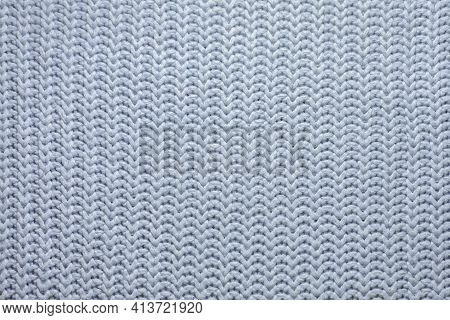 Woolen Background, Texture Of A Knitted Scarf Or Sweater, Handmade Knit, Knitted Background