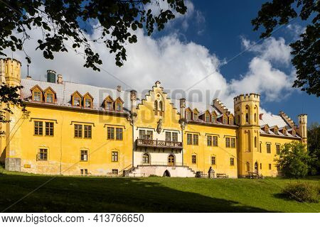 Nectiny castle, Western Bohemia, Czech Republic