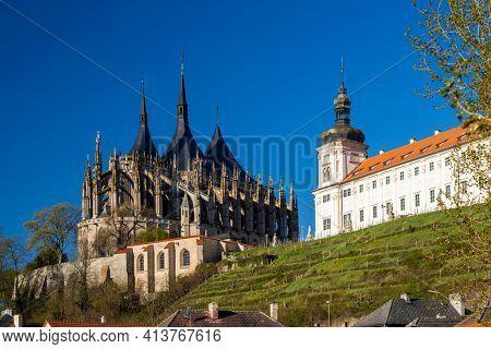 St. Barbara's Church in Kutna Hora, UNESCO site, Czech Republic