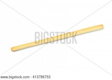 Tasty Grissini Breadstick Isolated On White Background