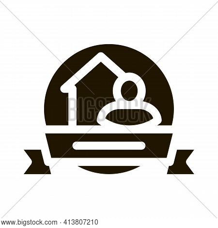 Brewer Logo Label Icon Vector Glyph Illustration