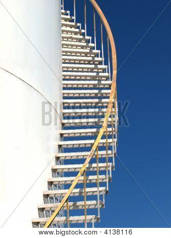 Storage Tank Stairs