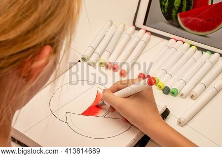 Learn To Sketch With Alcohol Based Sketch Drawing Markers For Illustrators And Graphic Designers. Ha