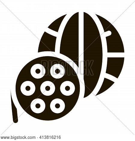 World Recording Technology Glyph Icon Vector. World Recording Technology Sign. Isolated Symbol Illus