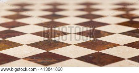 Dark And Light Marble Tiles - Floor, Tile, Chessboard