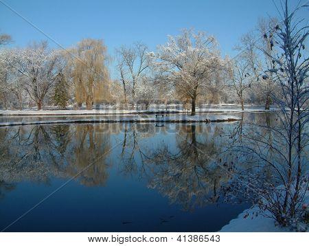 Pond at Hidden Lakes