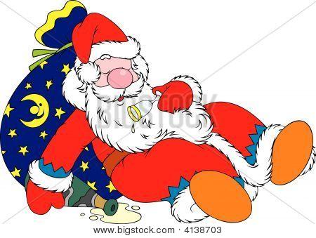 Tipsy Santa Claus