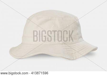 Unbleached bucket hat streetwear accessories