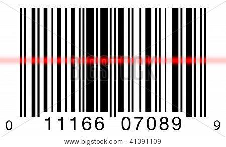 Barcode Scanning On White