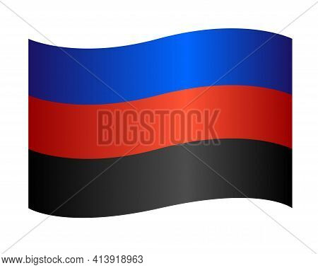 Polyamory Flag - Stock Illustration - Blue-red-black Flag. Polyamory Pride Symbols. One Of The Forms