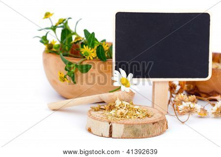 Dried Chamomile, Medicinal Herbs