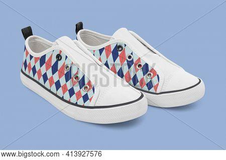 Colorful slip-on unisex streetwear sneakers fashion