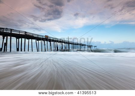 Abandoned North Carolina Outerbanks Fishing Pier