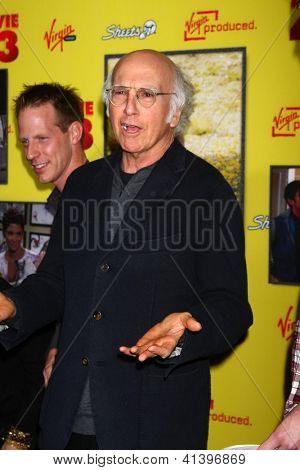 LOS ANGELES - JAN 23:  Larry David arrives at the