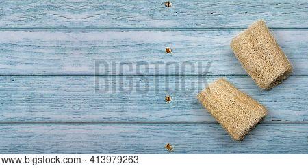 Luffa Operculata - Fibrous Vegetable Cleaning Sponge
