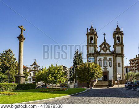 Church Of Nossa Senhora Do Carmo In Viseu, Portugal