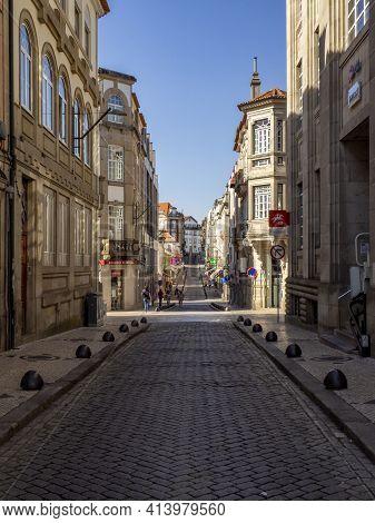 Rua Dr. Luíz Ferreira , Viseu Streets, Portugal