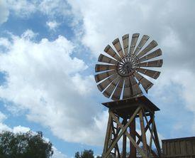 Rural Windmill