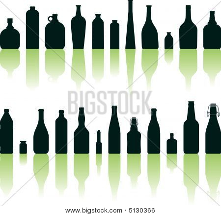Bottles Silhouettes
